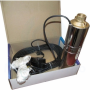 Погружной центробежный многоступенчатый насос для воды Водолей БЦПЭ 0,32-40У каб. 25м
