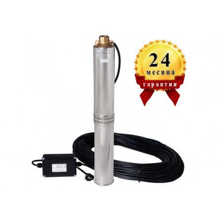 Погружной центробежный многоступенчатый насос для воды Водолей БЦПЭ 0,5-80У*