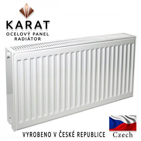 Радиатор стальной панельный KARAT тип 22 500/1500